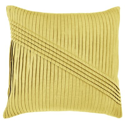 Dakira Throw Pillow Color: Yellow