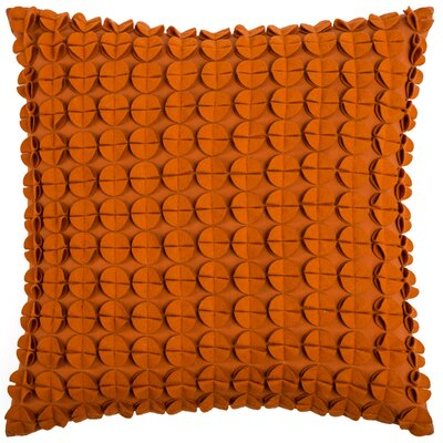Denice Throw Pillow Color: Orange