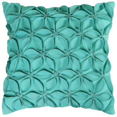 Florent Throw Pillow Color: Turquoise