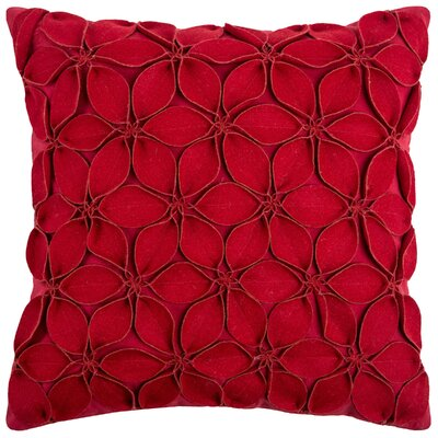 Florent Throw Pillow Color: Red