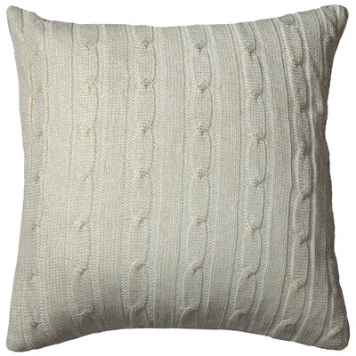 Dalal  Pillow Cover Color: Cream/Gold