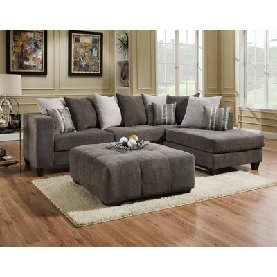Ranallo Sectional Upholstery: Gray