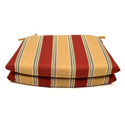 Tapered Outdoor Dining Chair Cushion