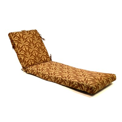Deluxe Leaf Outdoor Chaise Lounge Cushion