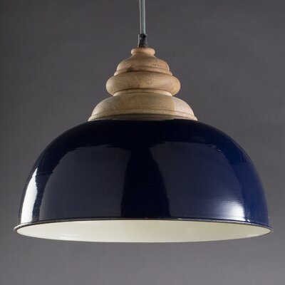 Jorma 1-Light Bowl Pendant