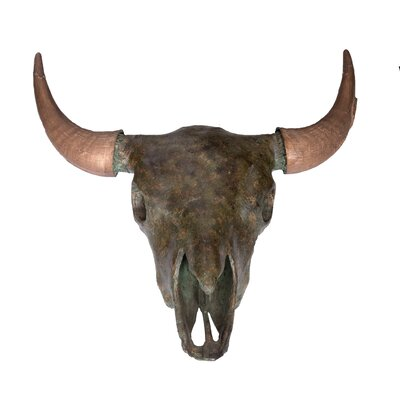 Buffalo Skull Bust Color: Nile Green