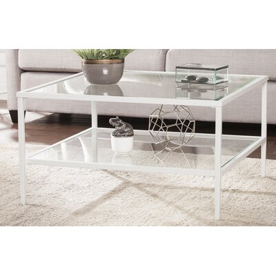 Sydnor Coffee Table Color: White