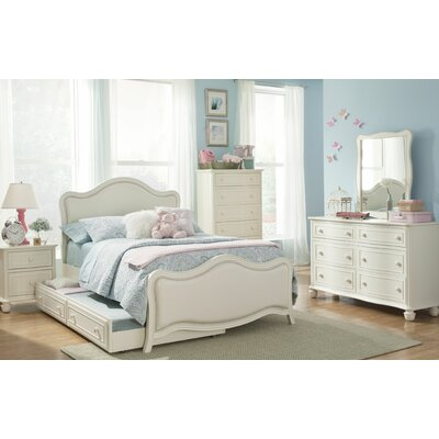 South Shore Upholstered Panel Bed Size: Twin