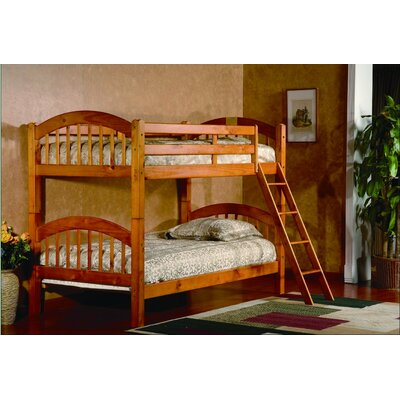 Jaren Twin Bunk Bed Finish: Oak