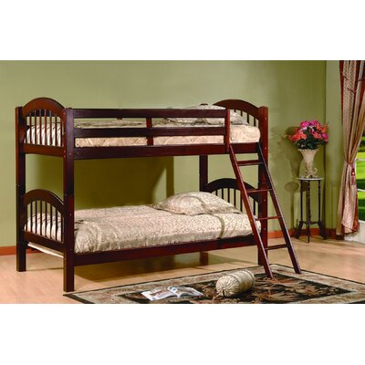 Jaren Twin Bunk Bed Finish: Cherry