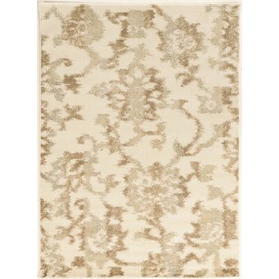 Dakota Bone Area Rug Rug Size: Runner 22 x 77