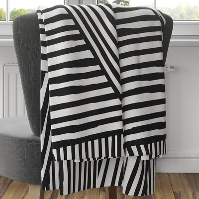 Orion Fleece Blanket Size: 80 L x 60 W, Color: Black