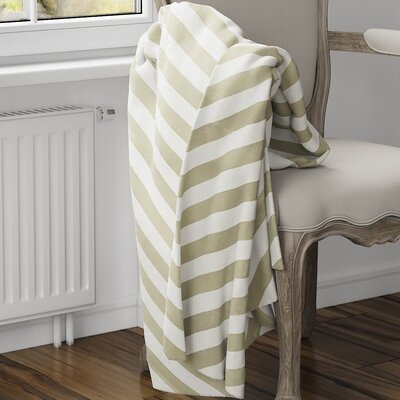 Mellina Fleece Blanket Size: 80 L x 60 W, Color: Yellow