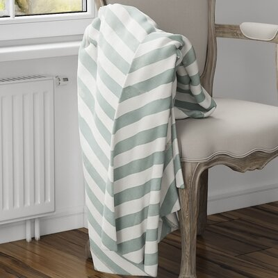 Mellina Fleece Blanket Size: 60 L x 50 W, Color: Green