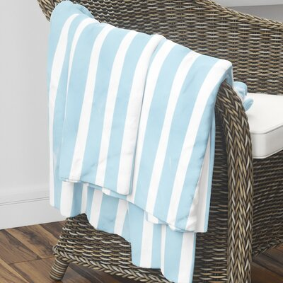 Saybrook Fleece Blanket Size: 40 L x 30 W, Color: Blue