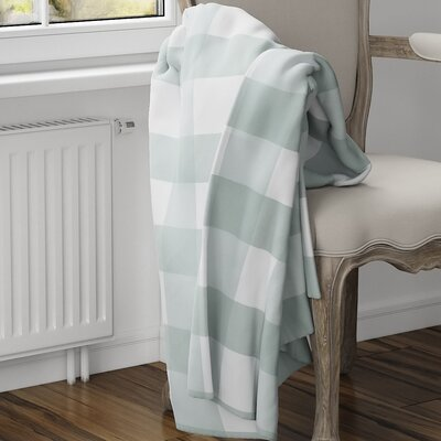 Ophelie Fleece Blanket Size: 40 L x 30 W, Color: Teal
