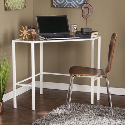 Coopers Corner Desk Finish: White