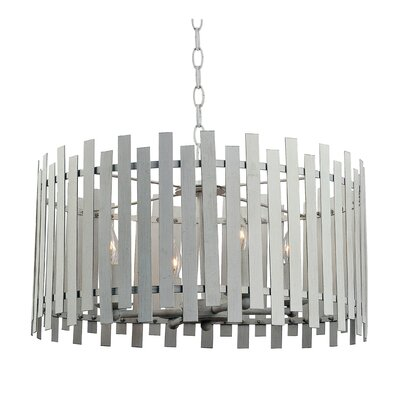 Brookline 4-Light Drum Pendant