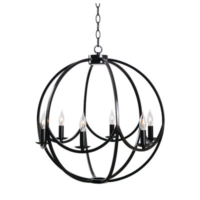 Rosella 6-Light Candle-Style Chandelier