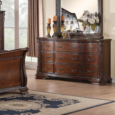 Martone 9 Drawer Standard Dresser