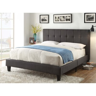 Benjamin Upholstered Platform Bed Size: King