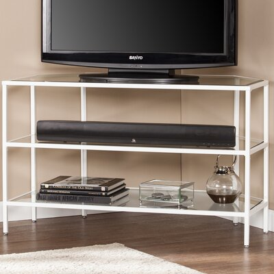 Bullock Metal/Glass Corner 39 TV Stand