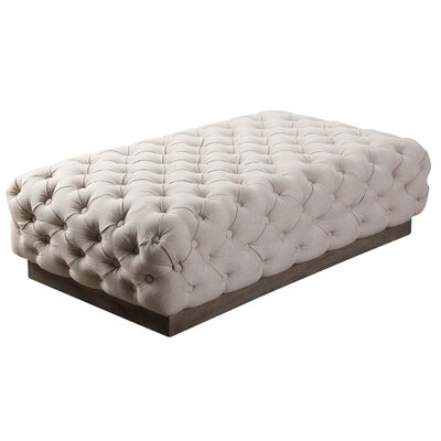 Beckford Ottoman Color: Linen