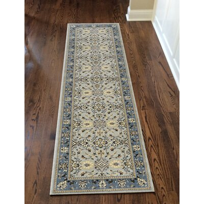 Softmint Green Area Rug Rug Size: Runner 22 x 77