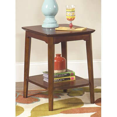Waynesville Modern Rectangular End Table