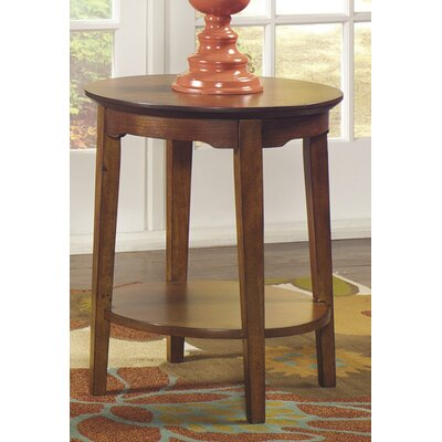 Waynesville Round End Table