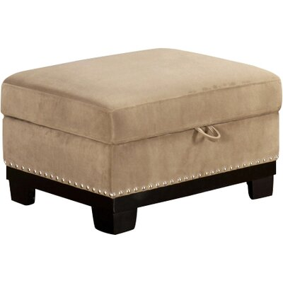 Opulence Ottoman Upholstery: Taupe
