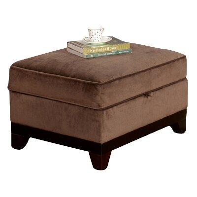 Opulence Ottoman Upholstery: Brown