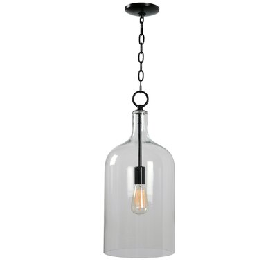 Ronna 1-Light Inverted Pendant Size: 95 H x 9.88 W x 9.88 D