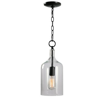Ronna 1-Light Inverted Pendant Size: 88 H x 6.13 W x 6.13 D