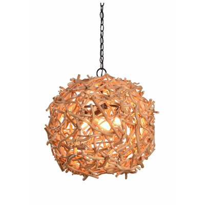 Zaid 3-Light Globe Pendant