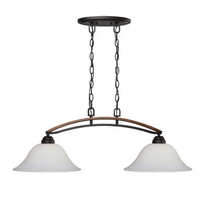 Cassan 2-Light Kitchen Island Pendant