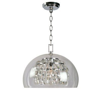 Worthing 1-Light Inverted Pendant