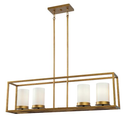 Branner 4-Light Kitchen Island Pendant