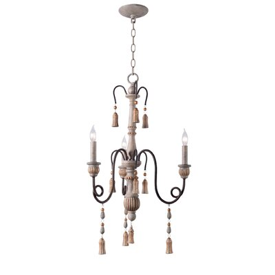 Hassan 3-Light Candle-Style Chandelier