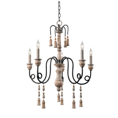 Hassan 5-Light Candle-Style Chandelier