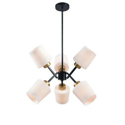 Duncanson 6-Light Sputnik Chandelier