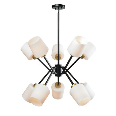 Duncanson 10-Light Sputnik Chandelier