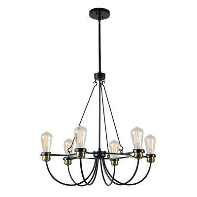 Georgeanna 6-Light Candle-Style Chandelier