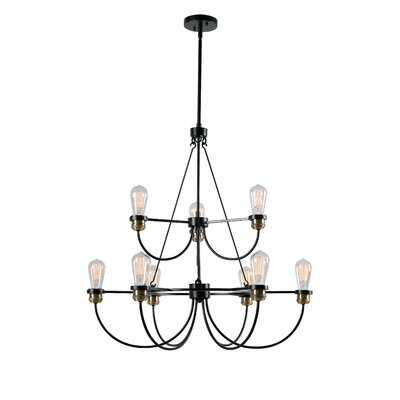 Georgeanna 9-Light Candle-Style Chandelier