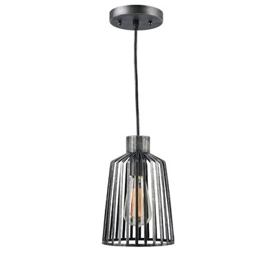 Elba 1-Light Mini Pendant Size: 129 H x 6.25 W x 6.25 D