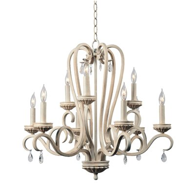 Khaled 9-Light Candle-Style Chandelier