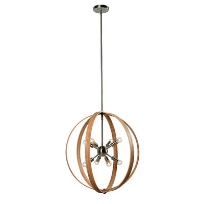 Robert 8-Light Globe Pendant