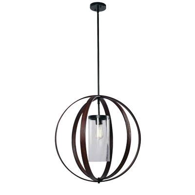 Quaniece 1-Light Globe Pendant