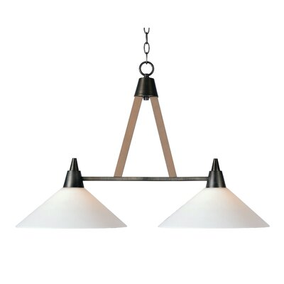 Rosemary 2-Light Kitchen Island Pendant