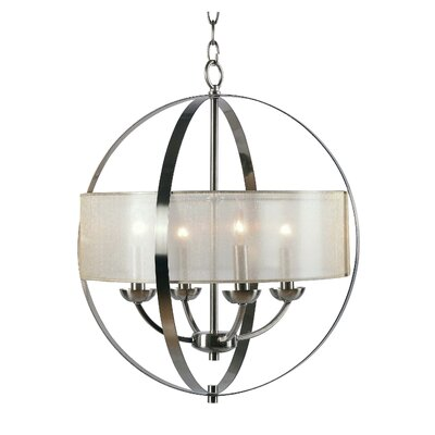 Tham 4-Light Drum Chandelier
